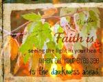 Faith is