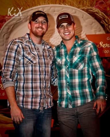 JD Greene and Dustin Lynch