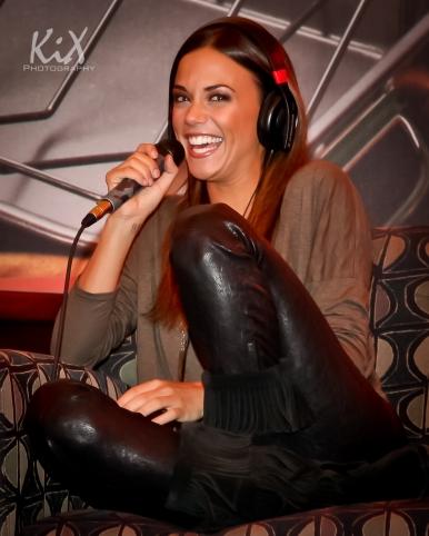 Jana Kramer pre show interview