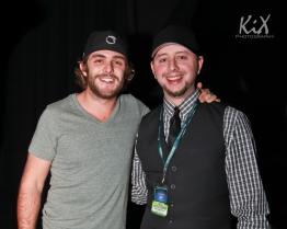 Thomas Rhett and Patrick Knight